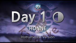 HONNE Day 1 ◑ (MR) (Karaoke Version) [ZZang KARAOKE]