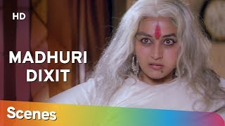 Best comedy scenes of Madhuri Dixit from Movie Raja | Sanjay Kapoor | Bollywood Comedy Movie