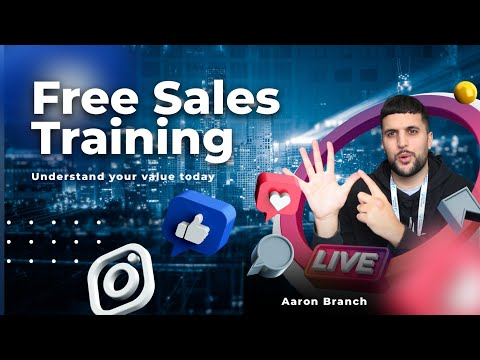 Free Sales Training | What Should I Charge? - YouTube