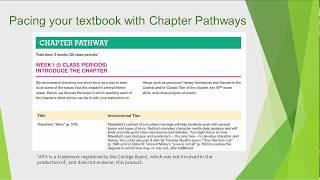 COURSE TOUR: Literature & Composition, 2nd Edition Teachers Resources