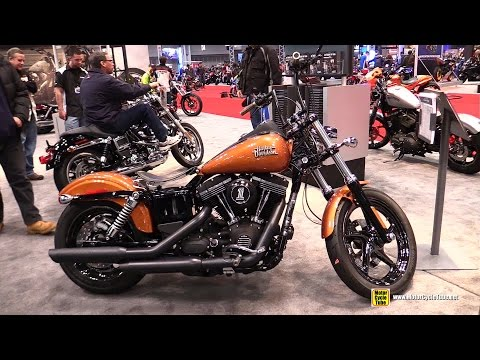 2015 Harley-Davidson Dyna Street Bob H-D1 Customized - Walkaround - 2014 New York Motorcycle Show