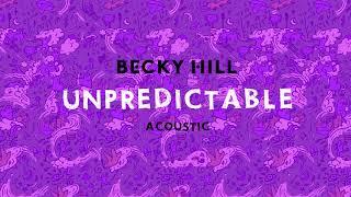 Unpredictable (Acústico)