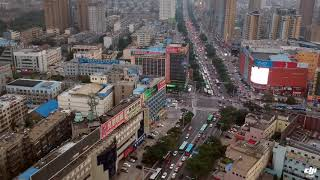 preview picture of video 'Tai'an City aka Taishan City (Drone View)'