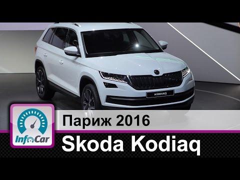 Skoda  Kodiaq Паркетник класса J - тест-драйв 1