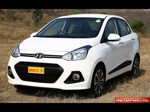 """Hyundai Xcent Review """"Test Drive"""" - AutoPortal"""