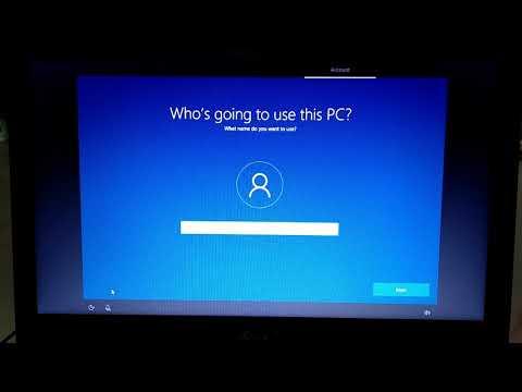 Installing Windows 10 on Acer Aspire 5 Laptop through bootable flash drive
