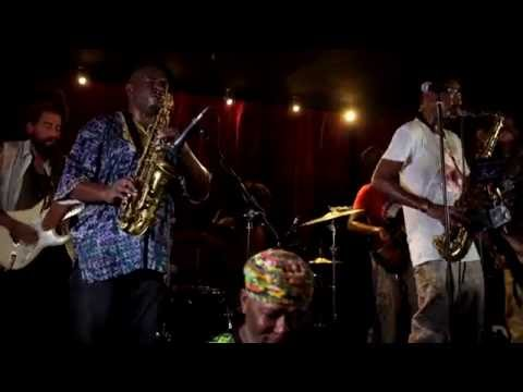 Anthony Joseph 'Caribbean Roots' ft. Shabaka Hutchings, 'Drum Song', London 08.09.2016 online metal music video by ANTHONY JOSEPH