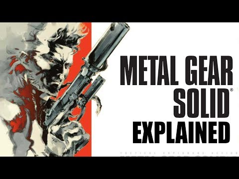 Metal Gear Explained (dunkey)