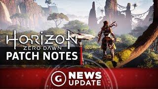 New Horizon Zero Dawn Update Out Now - GS News Update