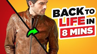 Bring Your Leather Jacket Back To Life In JUST 8 Minutes!