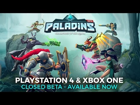 Paladins Closed Beta Key Giveaway (PS4) – GameUP24