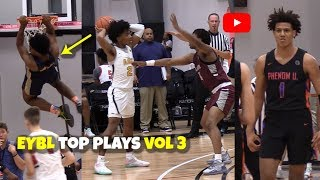TOP PLAYS From EYBL Session 3 DALLAS! The Best Dunks & Highlights