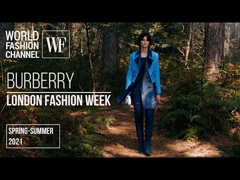 Burberry spring-summer 2021   London Fashion Week