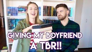 MAKING MY BOYFRIEND READ YA: THE TBR!