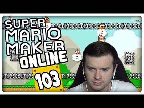 SUPER MARIO MAKER ONLINE Part 103: First Try or Skip Challenge: 100-Mario-Herausforderung