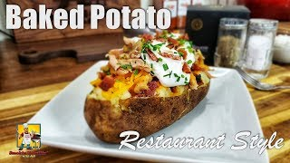 slow cooking baked potatoes in oven
