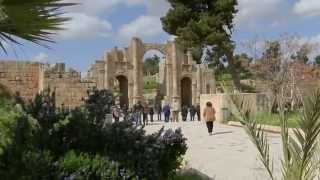 preview picture of video 'Jerash (Gerasa) - Giordania'