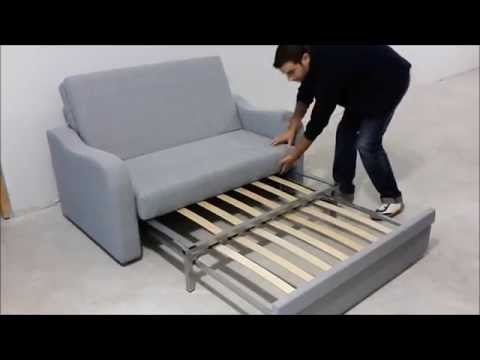 Sofá cama 2 plazas, ideal para pequeños espacios
