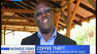 Coffee Theft! Farmers lose millions in coffee theft as factory reports 6 incidents in Murang'a