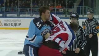 KHL Fight: Artyukhin KO
