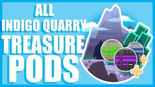 Slime Rancher-All INDIGO QUARRY Treasure Pods!!!