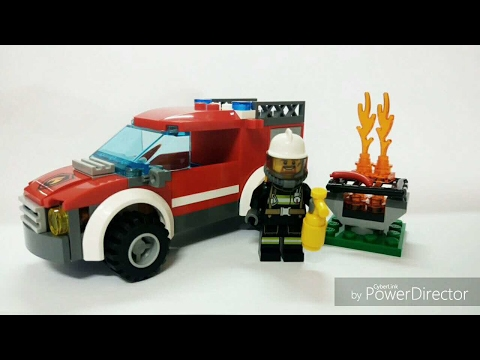 Lego City - 11911 Fire Truck - Lego Speed Build