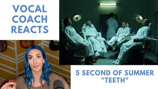Vocal Coach Reacts To 5 Seconds Of Summer   Teeth