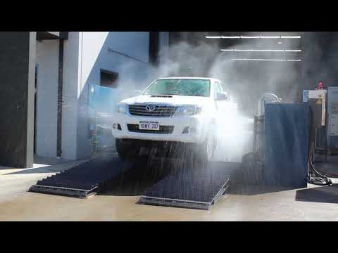 Truck Wheel Wash Demonstration