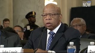 Rep. Lewis testifies against Sen. Sessions during his nomination for attorney general