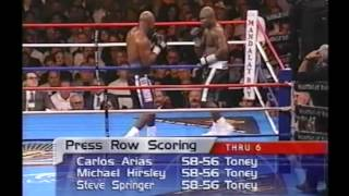 James Toney vs Evander Holyfield Part 3
