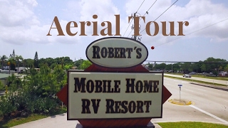 Robert's Mobile Home & RV - Aerial