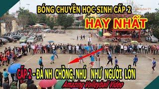 Chung Kết Bóng Chuyền Học Sinh Cấp 2 Thạch Thành 2019 | Thạch Sơn & Thành Minh