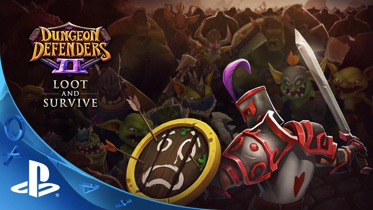 Atualização Loot & Survive de Dungeon Defenders II Já Disponível para PS4