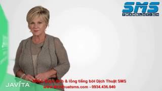 Dịch Anh-Việt và lồng tiếng video huấn luyện Javita 3