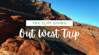Out West - Cinematic FPV Drone - Cliff/Mtn Diving- Canyonlands - Bryce Canyon - GoPro Hero 7