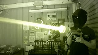 100% Invisible IR Death Ray Laser!