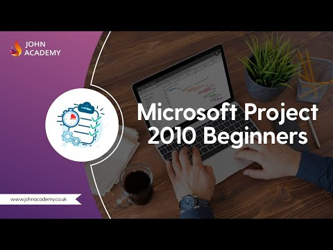 Microsoft Project 2010 Beginners - Complete Video Course | John ...