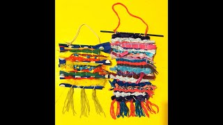 Saturday Family Crafts – Weaving Waste