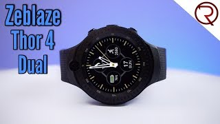 Zeblaze Thor 4 Dual Smartwatch - The Android Watch That Can Replace Your Smartphone