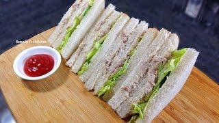 Chicken & Mayonnaise Sandwiches Video by (HUMA IN THE KITCHEN)