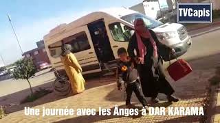 Tous les jours de la semaine nous Soignons les enfants à Dar KARAMA