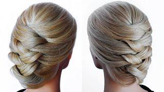 😱 Bridal Updo Tutorial. 😱 Wedding Prom Hairstyles For Medium To Long Hair