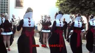 preview picture of video 'Huecija Carnaval 2012 Las Reinas de Corazones'