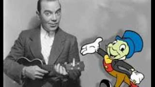 Jiminy Cricket (Cliff Edwards) Sings When You Wish Upon A Star