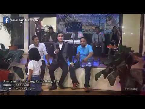Video AMRIZ ARIFIN - INDANG pariaman - RATOK RANG TUO (live perform @lumbung selera Depok, 8/4/2017)