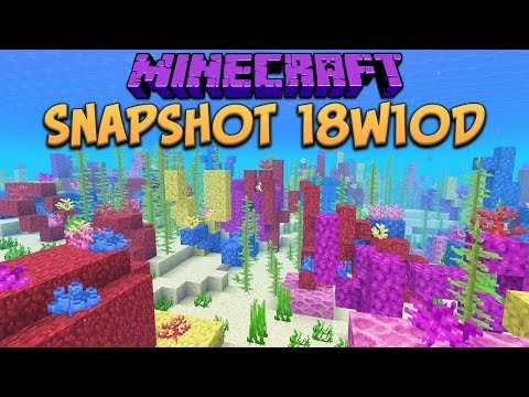 Minecraft Walkthrough - 1 13 Update Aquatic - Trident Farm