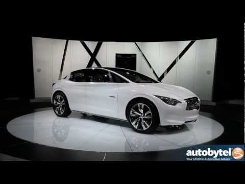 Infiniti Etherea luxury crossover concept at the 2012 Detroit Auto Show Video