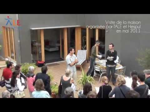 Maison bois labelisé BBC effinergie Lyon8 (reportage ALE)
