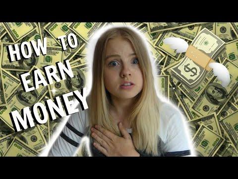 Kā pelnīt pirmās naudas idejas