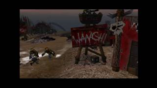 Warhammer 40,000: Dawn of War Dark Crusade Захват Орочьей базы.